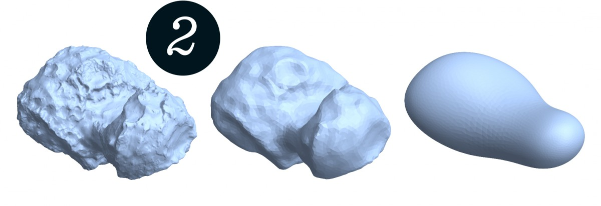 The nucleus of 67P/Churyumov-Gerasimenko