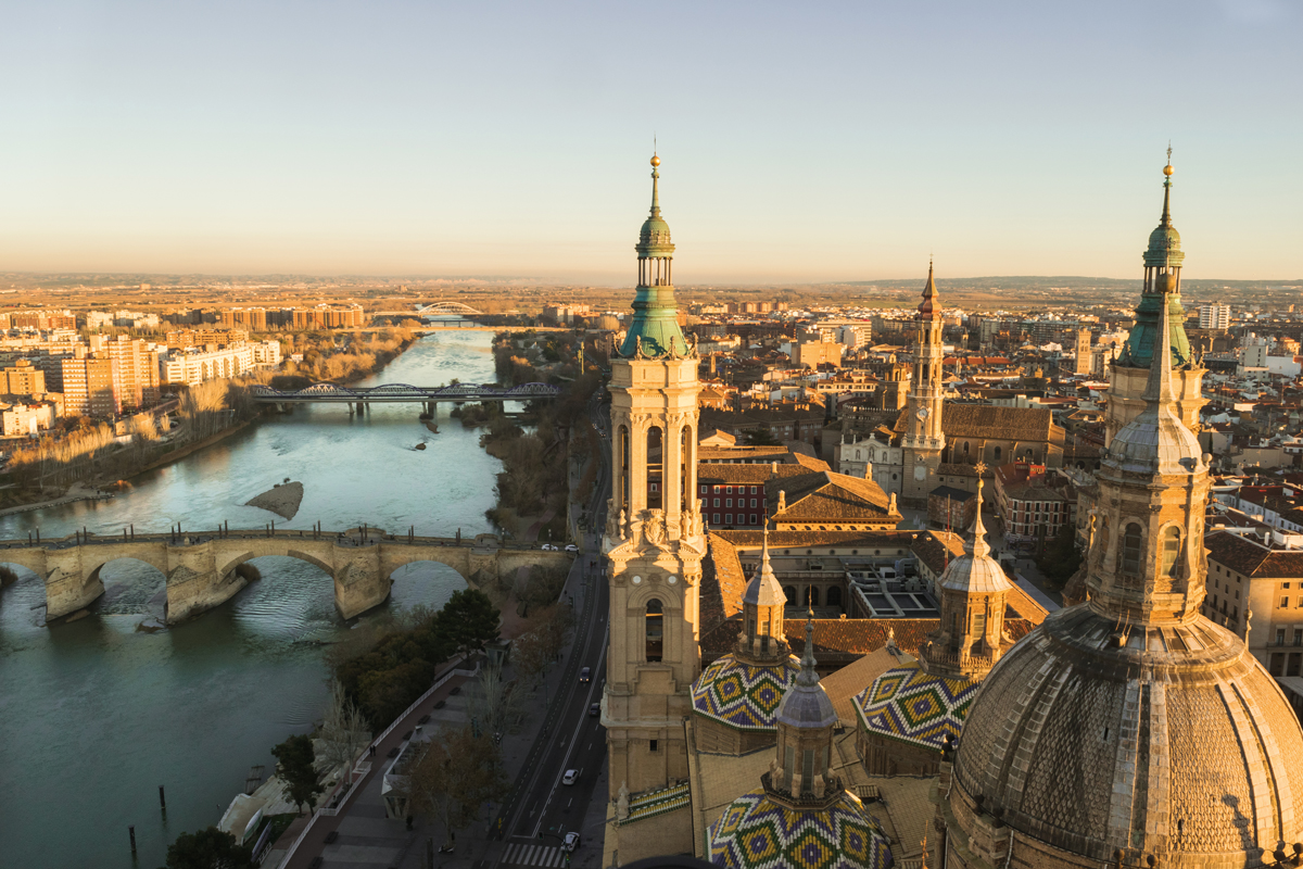 View of Zaragoza.