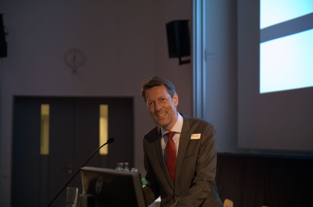State Secretary Dr. Georg Schütte of the BMBF at the MODAL Opening Ceremony on October 13, 2014