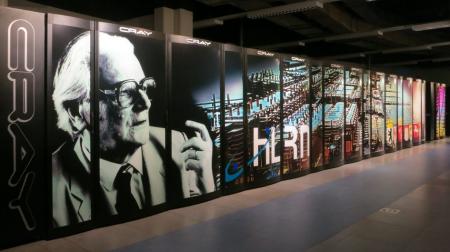 Bild des aktuellen Supercomputer im ZIB