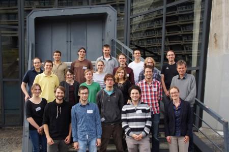 Picture from DMV Studierendenkonferenz 2014