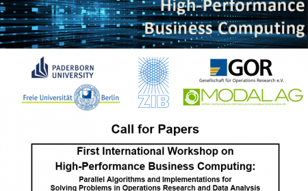 Call for Papers: First International Workshop on High-Performance