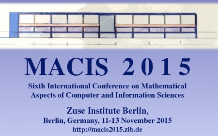 MACIS 2015 Conference