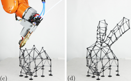 FrameFab: Robotic Fabrication of Frame Shapes