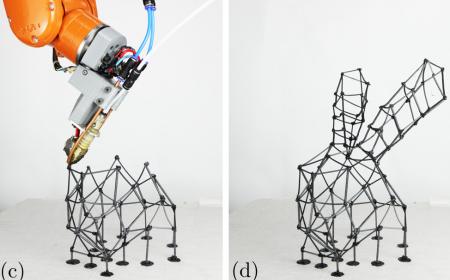 FrameFab: Robotic Fabrication of Frame Shapes
