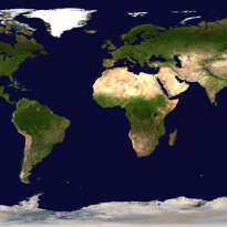 Weltkarte copyright mapsland.com